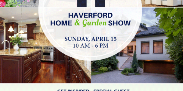 T-Minus 3 Day! Haverford Home & Garden Show is HERE!