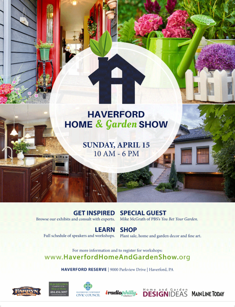 T-Minus 3 Day! Haverford Home & Garden Show is HERE! | Penn ...